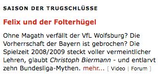 Das ehemalige Nachrichtenmagazin aus Hamburg macht wieder mal eigenwillige Scherze ...
