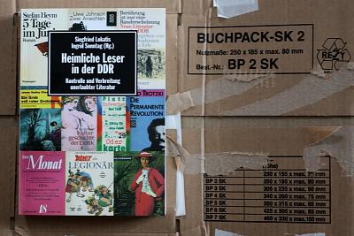 Frisch ausgepackt: »Der heimliche Leser«.