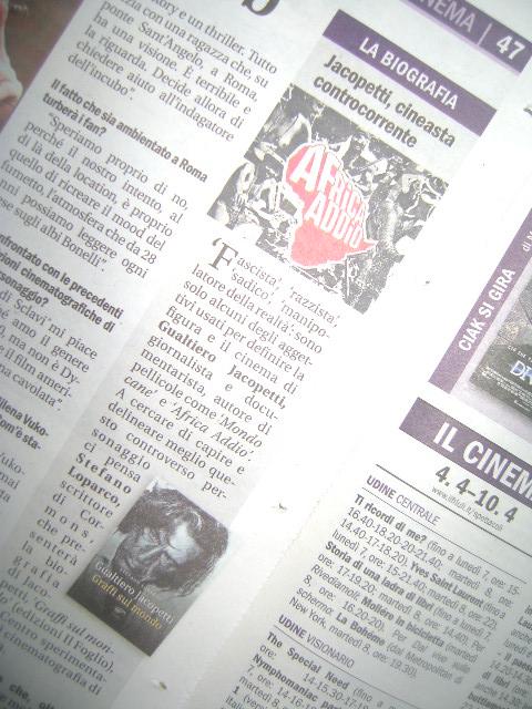 'Graffi sul mondo' approda su Il Friuli