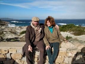 Con Giovanna Gravina Volonté, La Maddalena, 2018