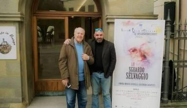 Con Giampaolo Lomi, Barga, 2016