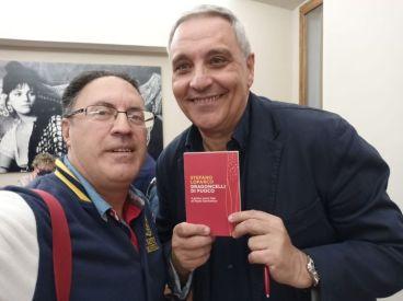 Bruno Grillo con Maurizio De Giovanni