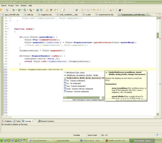 Quale IDE per Cakephp, parte 2