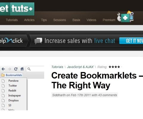 Bookmarklets for everyone