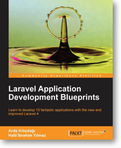 "Win free copies of the new book ""Laravel Application Development Blueprints"" [UPDATED] [EN only]"