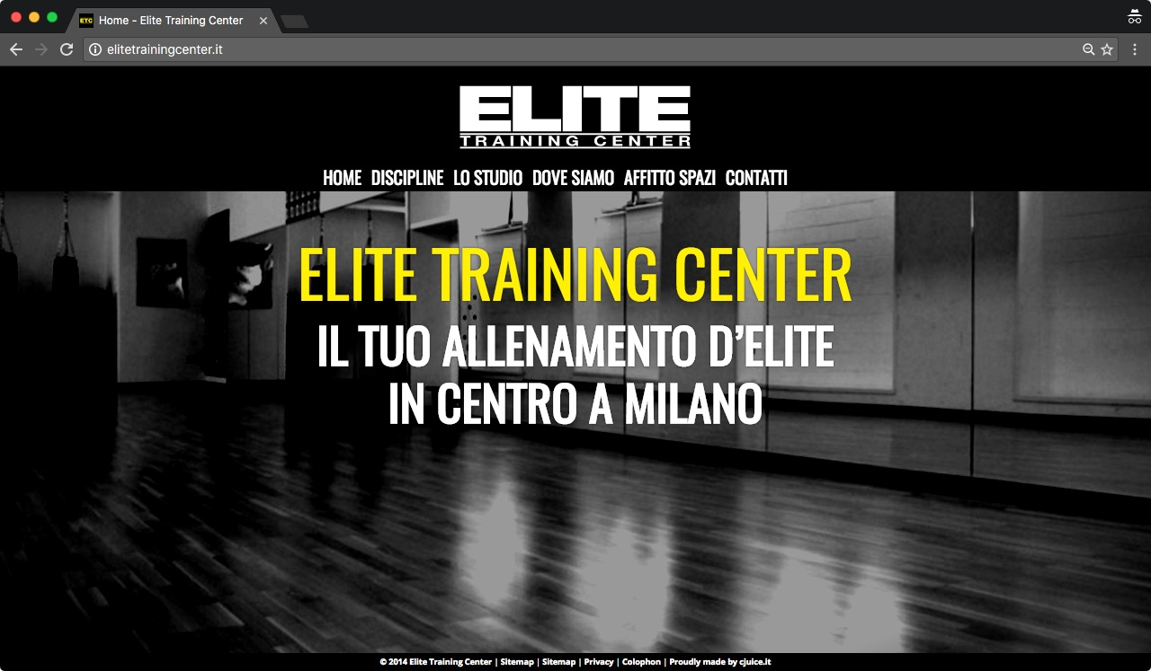 Elite Training Center Arti Marziali Milano