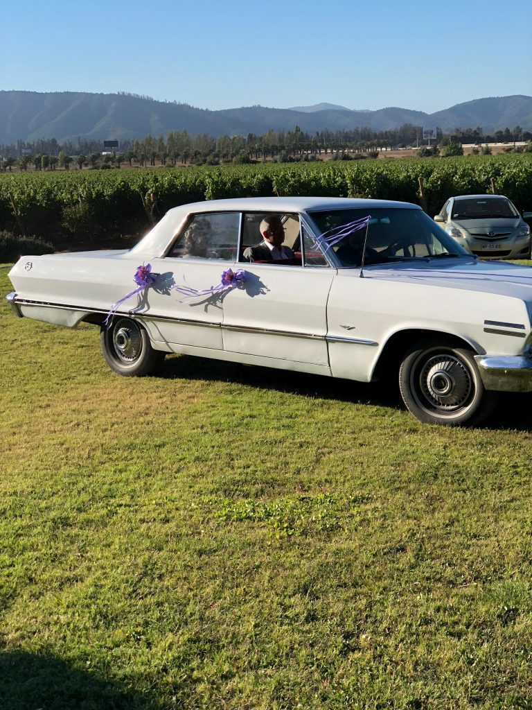 Bride in the Impala