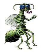 A version of 'bug man'