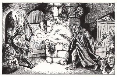 strange bedfellows goblin shaman