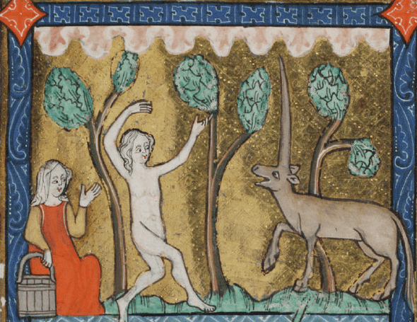 medieval-woman-and-unicorn