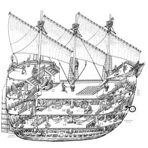 Ship cutaway drawing   stefan poag