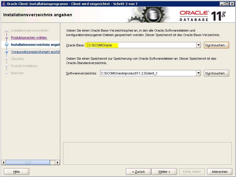 SCOM 2012 – Monitoring Oracle Database OLE DB Management Pack