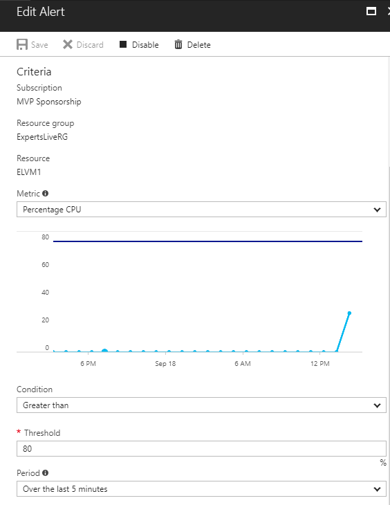 Azure Automation – Up / Down Scale Azure VM | STEFANROTH NET