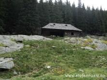 Cabană de pe Transfăgărășan