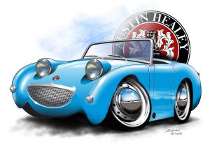 cartoon car art,