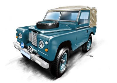 Landrover Series 1 Blue