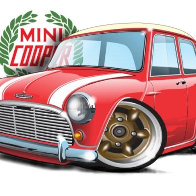 Mini Cooper - Red