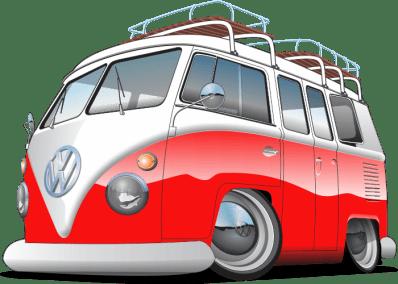 VW Splitty, Split window bus,