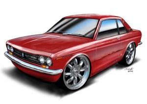 510 Datsun Bluebird SSS Coupe