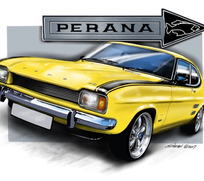 capri perana, cartoon car drawings, car art, car drawings,
