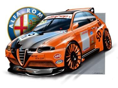 Alfa Romeo 147 Cup racecar