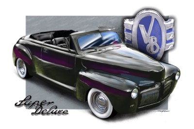Chopped '48 Ford
