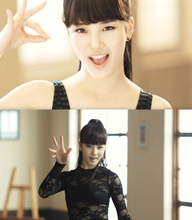 Pre-debut pictures of Suzy(Sue Ji) from Miss A (1/3)