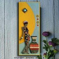 Картина пано – Африканка