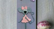 Картина за детска стая Мишлето Кейтлин