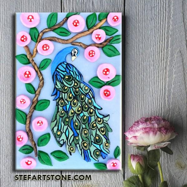 Картина Паун пролет