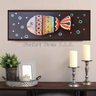 декорация за дома пано риба