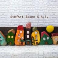 пано за дома с каменни къщички