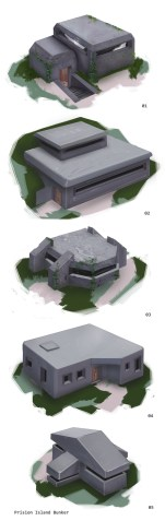 Bunkers, concept design.