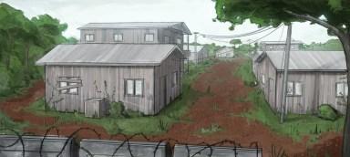 Village, environment design.
