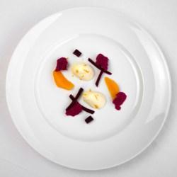 Annette Sandner: Rote Bete | Weiße Schokolade | Orange