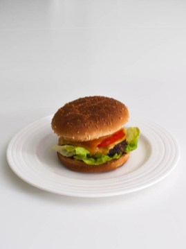 Caesar- Salad- Burger