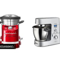 Kräftemessen | Thermomix vs. KitchenAid vs.  Cooking Chef KM086 vs. Prep & Cook HP 5031