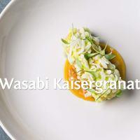 Ein Rezept von Tim Raue: Wasabi Kaisergranat