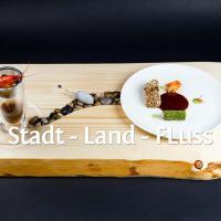 Signature Dish von Falko Weiß: Stadt Land Fluss