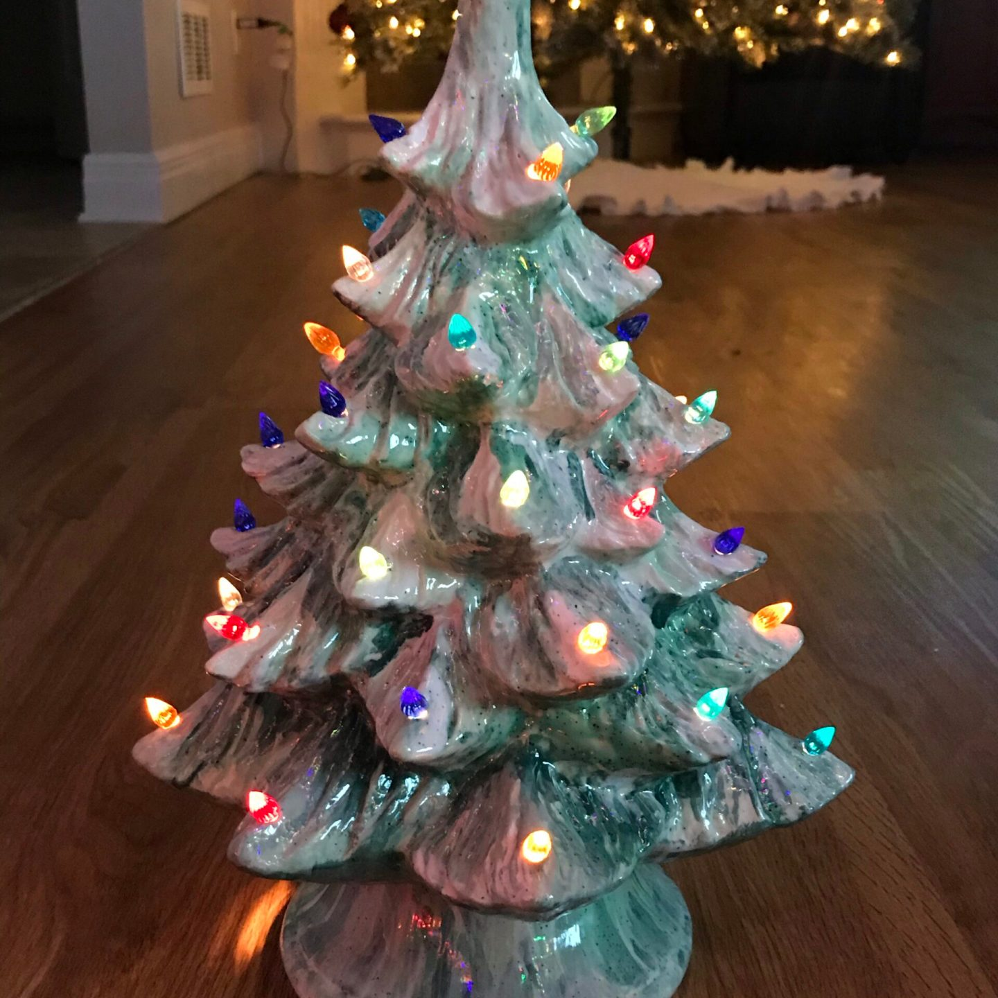 Ceramic Christmas Trees and Ornaments, DIY Style