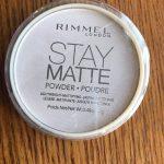 Best drugstore powder- Rimmel Stay Matte