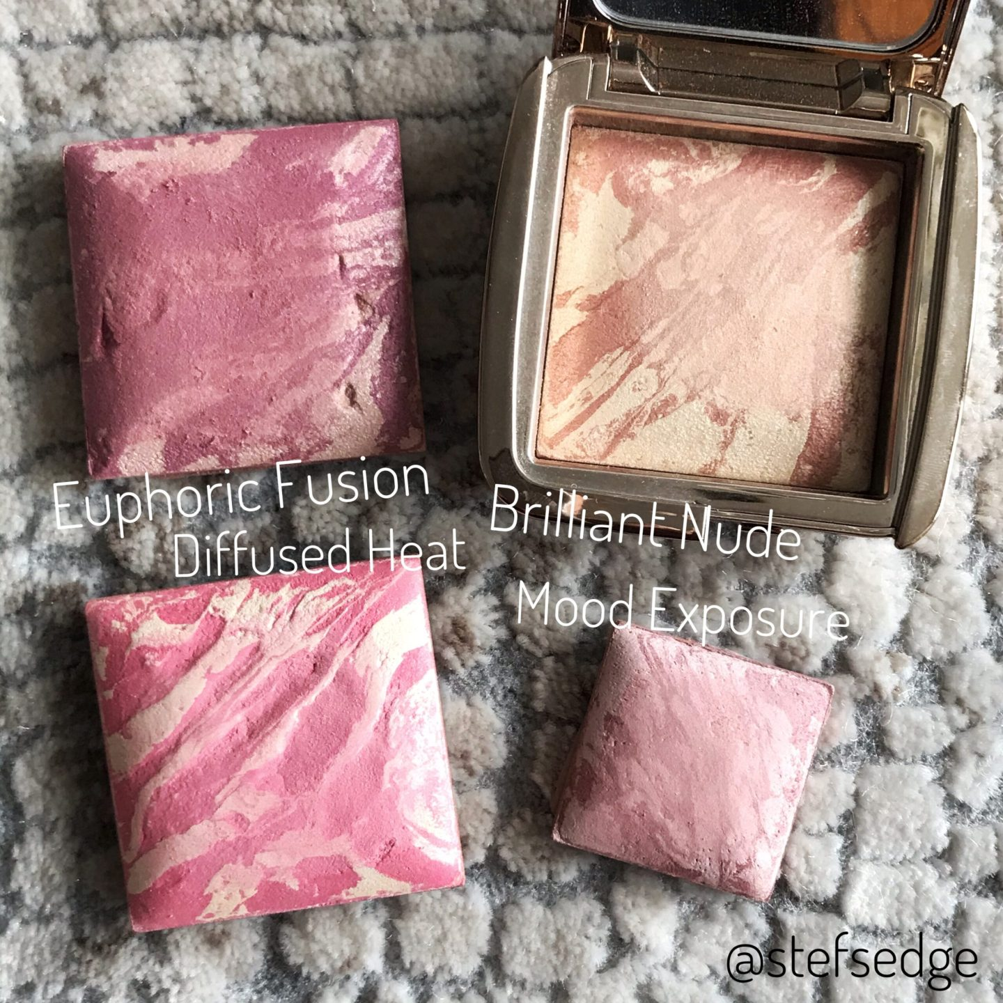 Hourglass Blush Swatches
