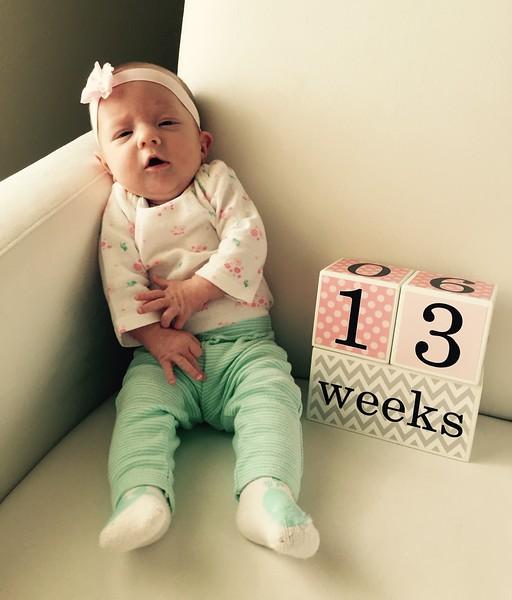 13 weeks