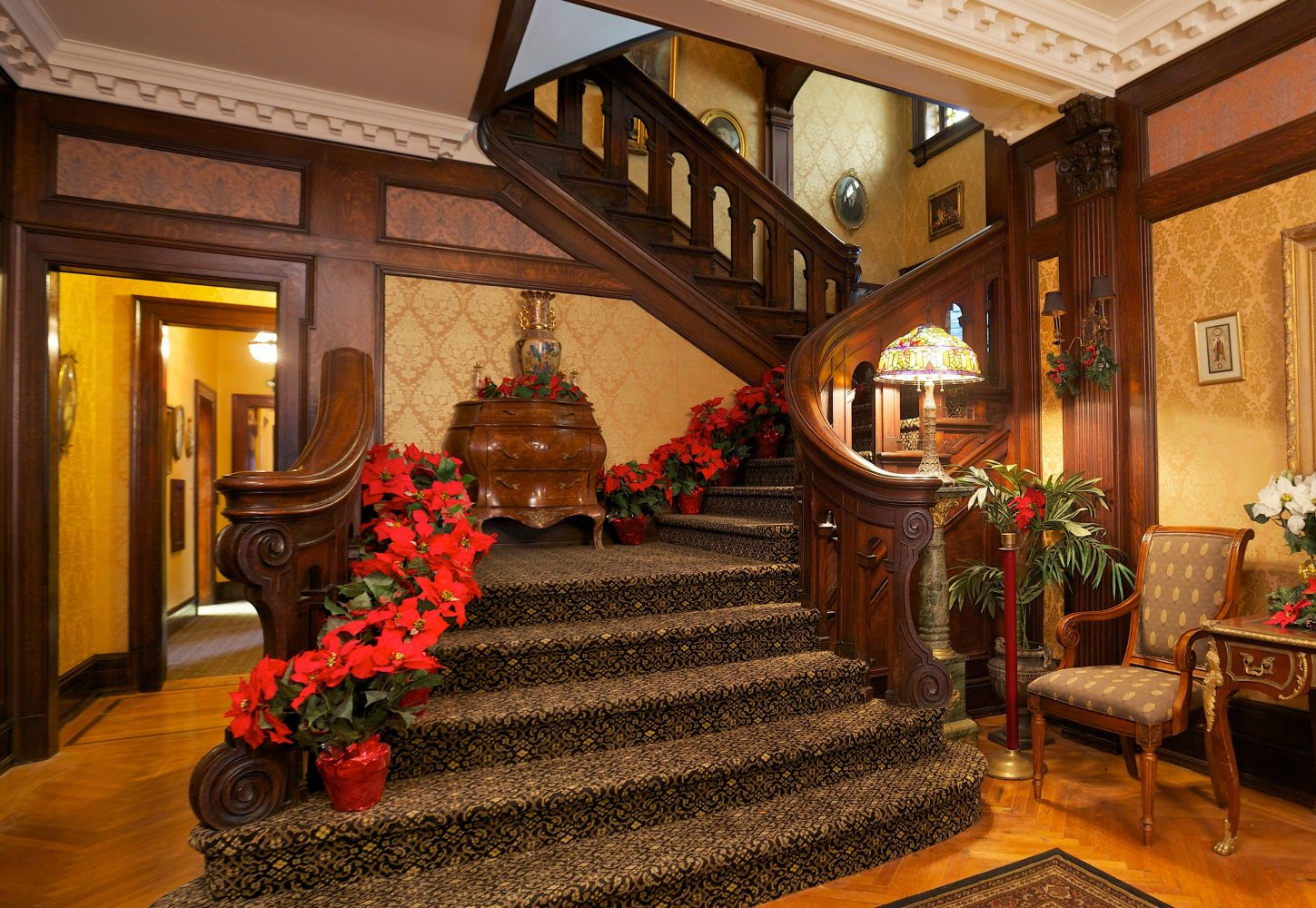 Staircase Large Px File The Mary And Frederick Stegmaier Mansions
