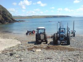 Proof that tractors are sea creatures that emerge from the sea to lay their eggs