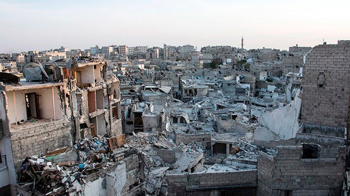 """Aleppo i dag etter fire år med """"frigjøring"""""""