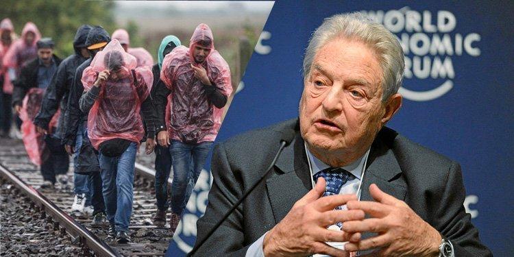 George Soros sponser migrasjonen og vil øke den