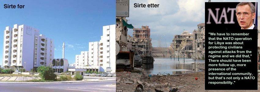 Hvem vedtok bombinga av Libya i 2011?