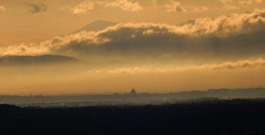San Pietro visto da Tolfa