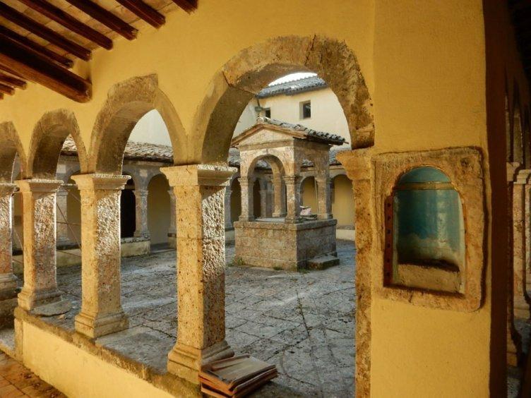 Klostergården i Convento dei Cappuccini